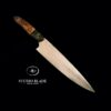 carbon steel chef knife made by Studio Blade