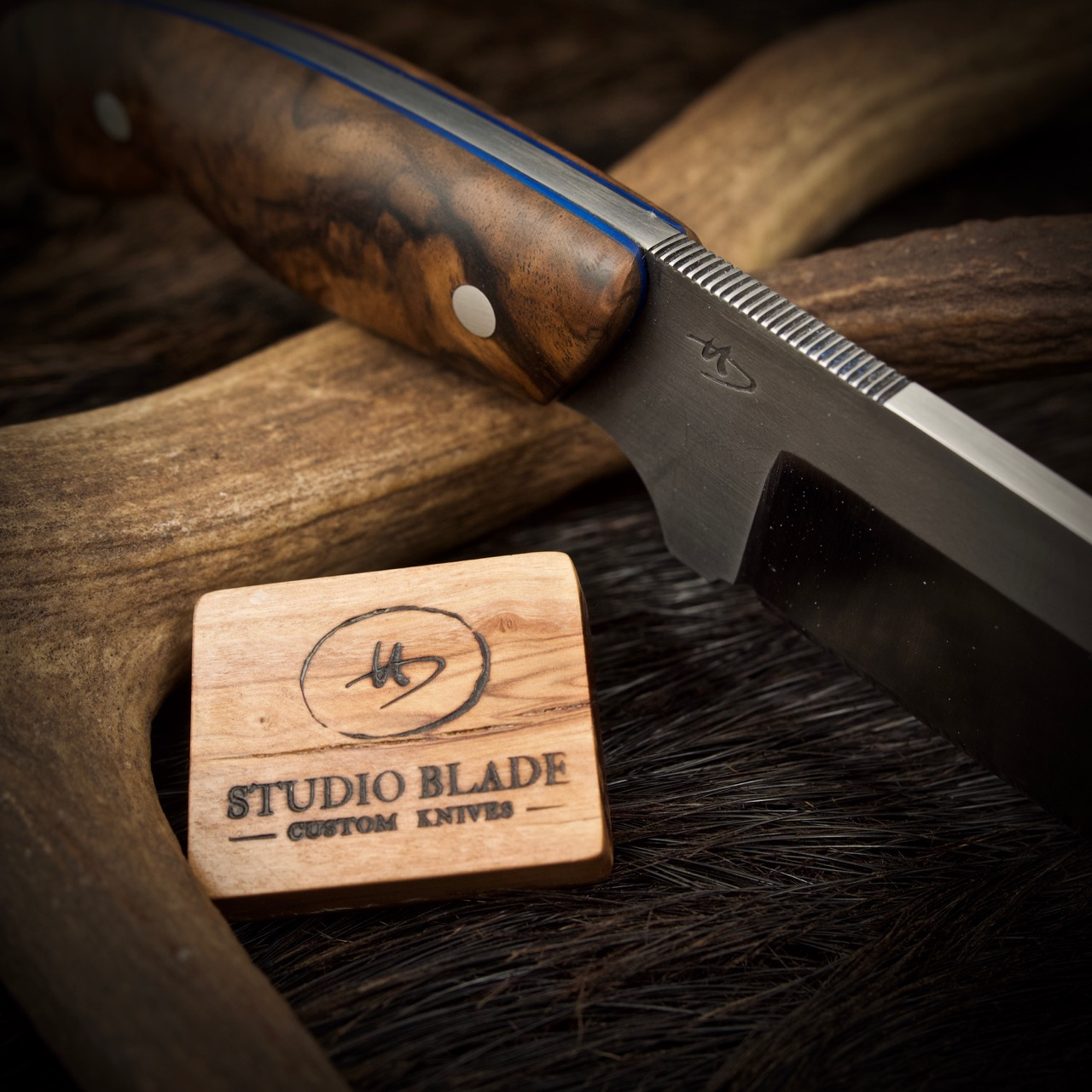Studio Blade Wild Boar Hunter Custom Knife