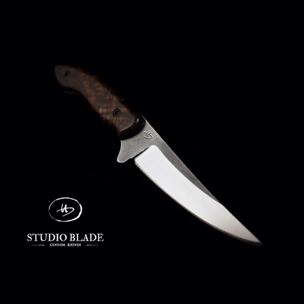 Studio Blade Hubert knife in Elmax with Walnut handle