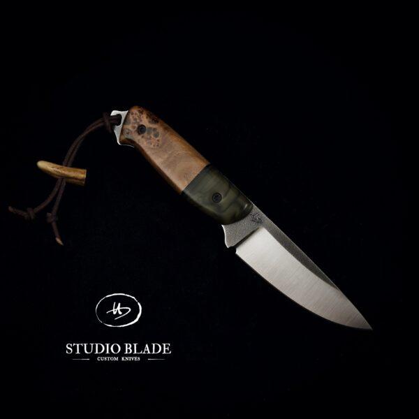 Studio Blade custom knife Overlander in Elmax
