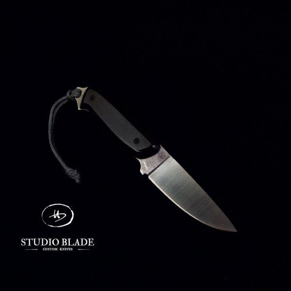 Overlander knife studio blade