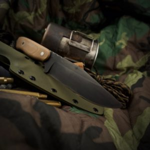 Studio Blade Custom Knives S.E.R.E. instructor prototype knife
