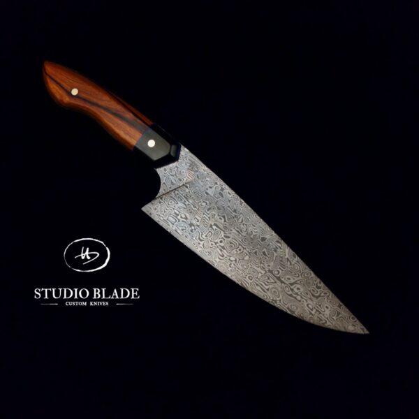 Studio Blade Damasteel knife