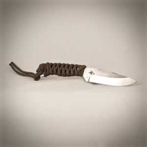 Traveller knife green paracord